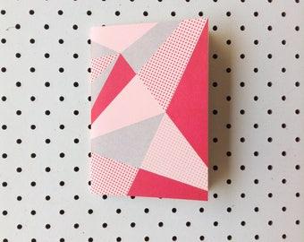Geometric Letterpress Notebook