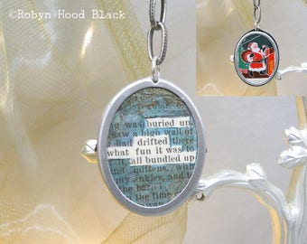 Micro Found Poem Ornament - Bundled Up