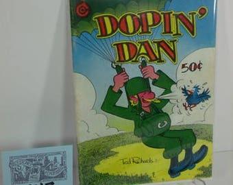 "1973 Last Gasp Press-""Dopin'Dan""by Artist Ted Richards-Underground Comix"