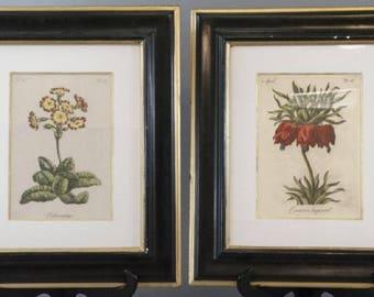 Vintage Pair Floral Paintings