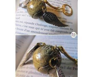 Golden snitch, HP key.
