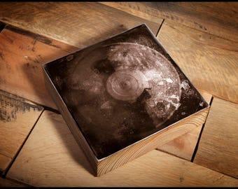 Pearl Jam Vinyl Album Vitalogy  Reclaimed Wood Block