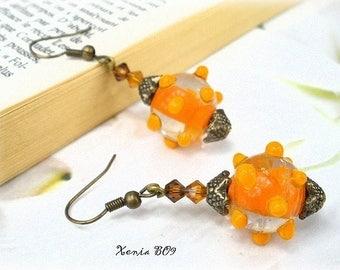 Unique designer earrings * Xenia BO9 *.