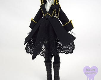 MONSTER DOLL Steampunk Victorian Jacket outfit