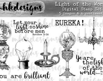 Light of the World Digital Stamp Set