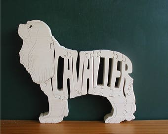 Cavalier King Charles Spaniel Cut On Scroll Saw