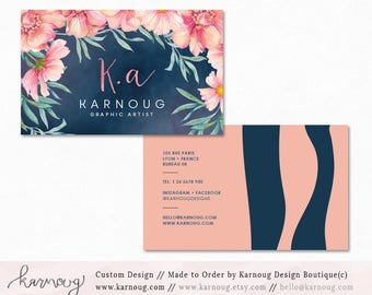 Custom Listing for Adrienne - Business card and Booklet update