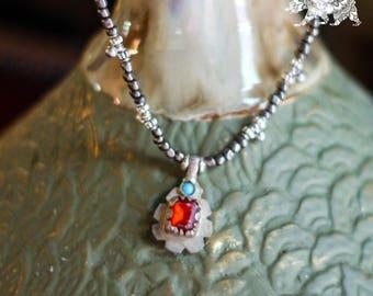 Xavia vintage ethnic pendant necklace