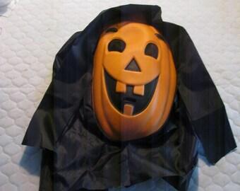 Vintage Halloween Pumpkin Face Mask