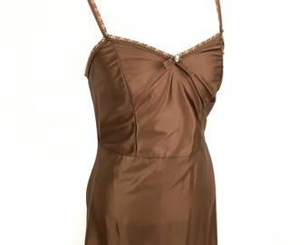 Long slip for maxi dress