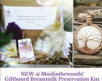 NEW ITEM Breastmilk Preservation Kit Holiday Gift Including Many Maidinthewoods Extras