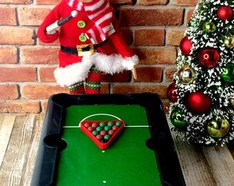 Christmas Elf Props -  Pool Table