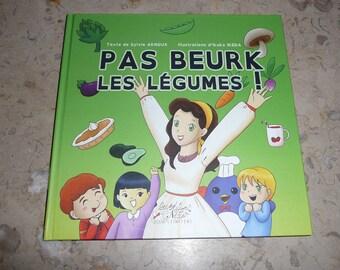 "Autographed book: ""no yuck, vegetables!"""