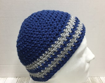 Crochet Beanie, Mens/Teens, One Size Fits Most