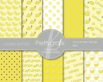 80% OFF SALE citrus, fruit digital paper, commercial use, scrapbook papers, background - PS505