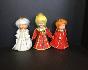 Vintage Angels - Set of 3