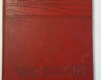 1951 The Bridge Yearbook Annual Central High School Fayetteville Tennessee TN