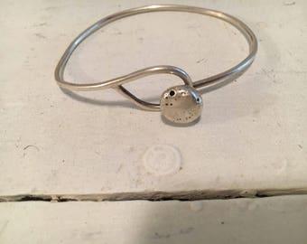 Hand made sterling bracelet