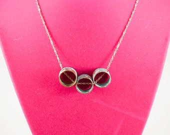 Three Circles Necklace 2