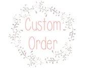 Custom Order for Connie - Skol Knit Hat