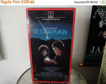 50% OFF Starman vhs tape vintage