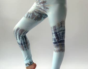 TD0215 Women's Tie Dyed Yoga Pants and Leggings,perfect for yoga super comfort, tiedye yoga pants