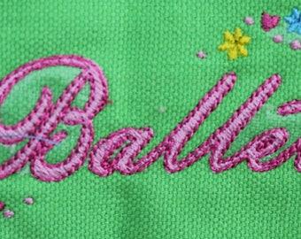 Dance Bag, Ballet Bag, Ballerina Bag, Dance