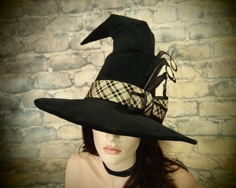 """NEW STYLE! Witch Hat """"Study Hall"""""""