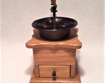 Coffee Grinder - Wooden and Metal
