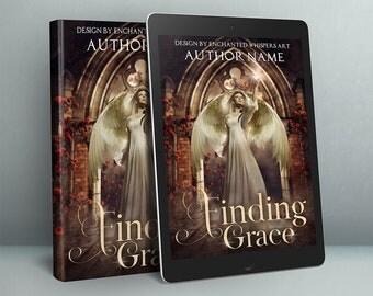 fantasy Angel premade cover design for ebook or paperback
