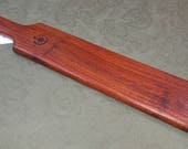 Coyote Wood Miss Rose Paddles Exotic Hardwood Spanking Paddle BOE BDSM  CY033