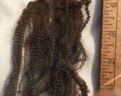 Raw, coated, BFL X Cormo/Romney fleece 1lb