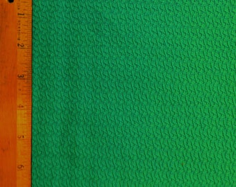 "Vintage Fabric, Blue/Green, Textured Cotton, 45"" x 30"""