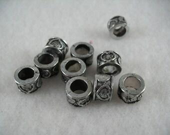 Metal Beads, 10 pcs  (1037)