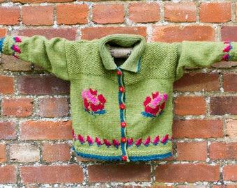 Handknitted Rosie Jacket