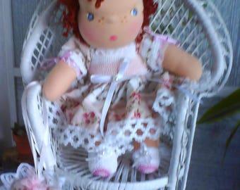 CHARLOTTE doll SHABBY style