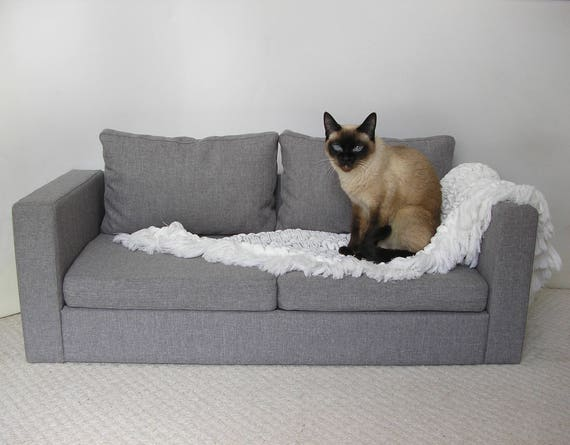 Items similar to mini copy of ikea sofa for two cats sofa for Cat window chaise