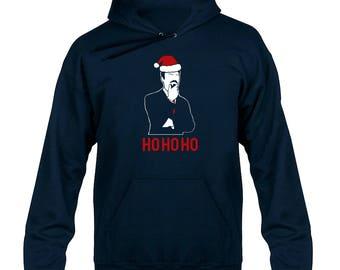 Ashens HO HO HO Christmas Santa Hoody  Hoodie Hooded Sweater