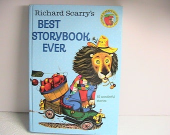 Richard Scarry's Best Storybook Ever, 82 Wonderful Stories, 1979