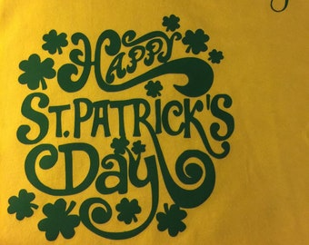 St. Patrick's Day T-Shirt, St. Paddy Day T-Shirt, Happy St. Patrick's Day, Irish Day Shirt, Boys St. Patrick's Day Shirt, Erin Go Braugh