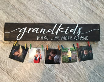 Grandkids Make Life More Grand Board