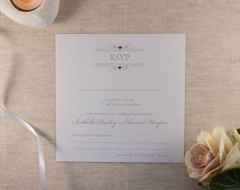 FLORENCE // Wedding Stationery // RSVP