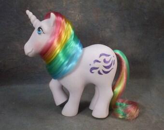 SALE - G1 Windy -  Rainbow Unicorn Pony
