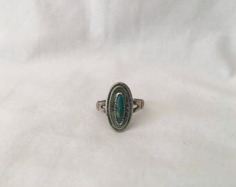 Vintage 1970's Sterling Ring Size 6.5