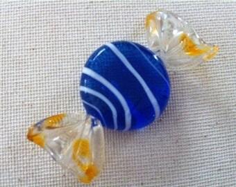 Art Murano Glass Candy Piece