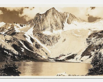 Snow Mass, Colorado Photo Postcard, c. 1920