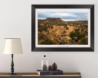 New Mexico Landscape - Southwest Art - Nature Picture - Desert Photography - Landscape Picture - Southwestern Wall Art - Travel Gift