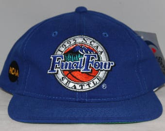 Vintage 1995 Seattle NCAA Final Four Sports Specialties Snapback Hat