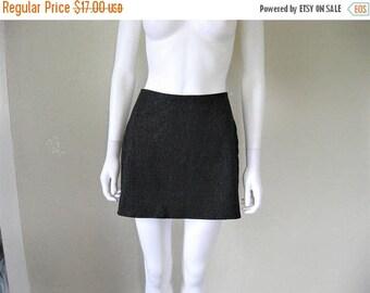 ON SALE black Shimmery Skirt