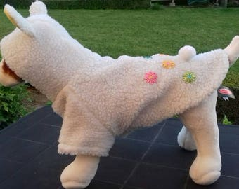 Little Lamb costume for small dogs